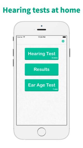 另一款听力测试 apps 《 Hearing Test & Ear Age Test 》
