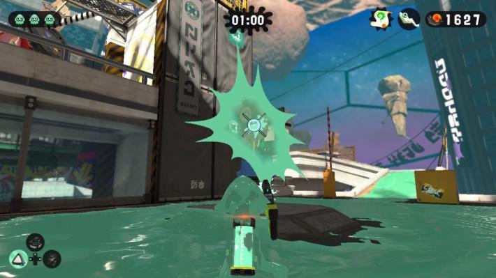 各位可以善用潜泳特性,游走到敌人背面进行快速的射击。