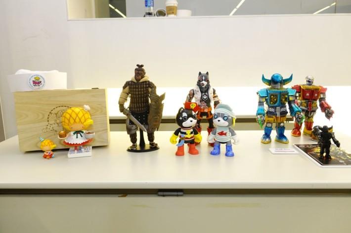 香港玩具设计师与大家分享