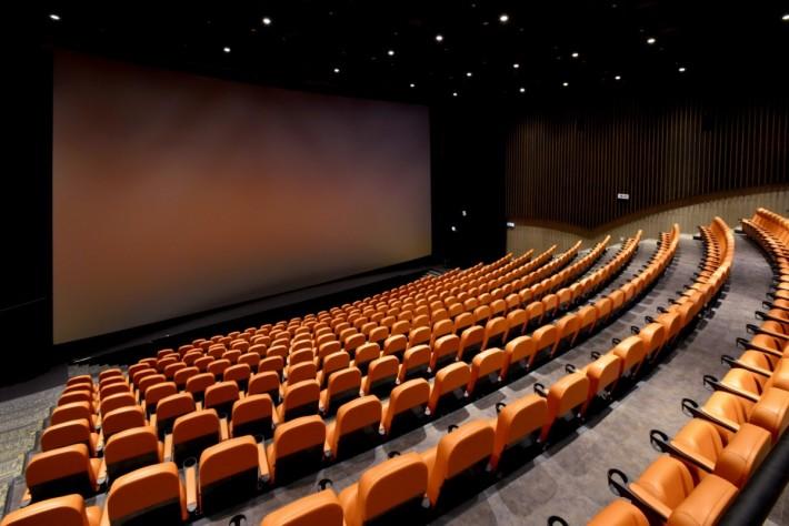 全港最宽敞的 IMAX 放映室