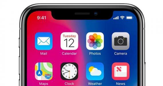 iPhoneX上的刘海将影响UI设计设计单位入围图片