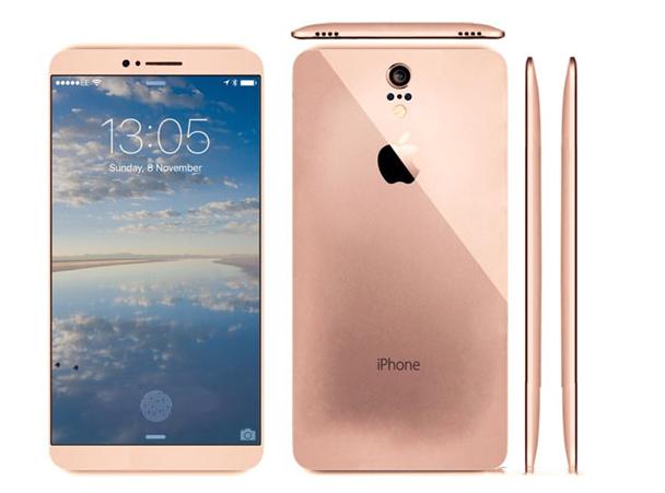 曝苹果iphone7外形设计概念图
